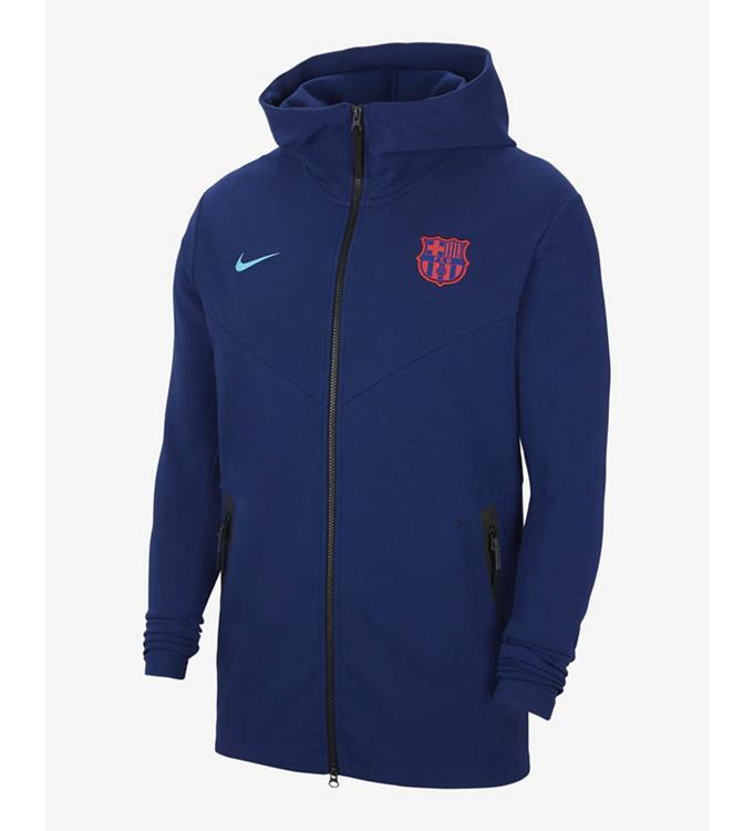 Nike F.C. Barcelona Tech Pack FZ Hoodie 2020/2021 M