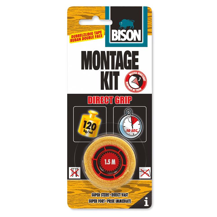 Bison montagekit tape 1,5 meter