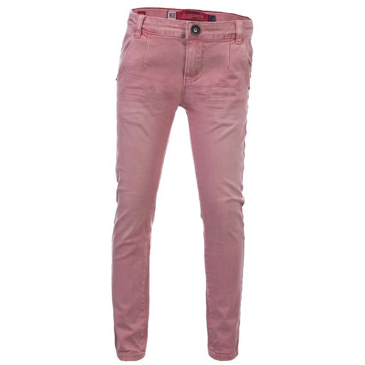 Blue Rebel CHINO - Pink - slim fit pant - betties