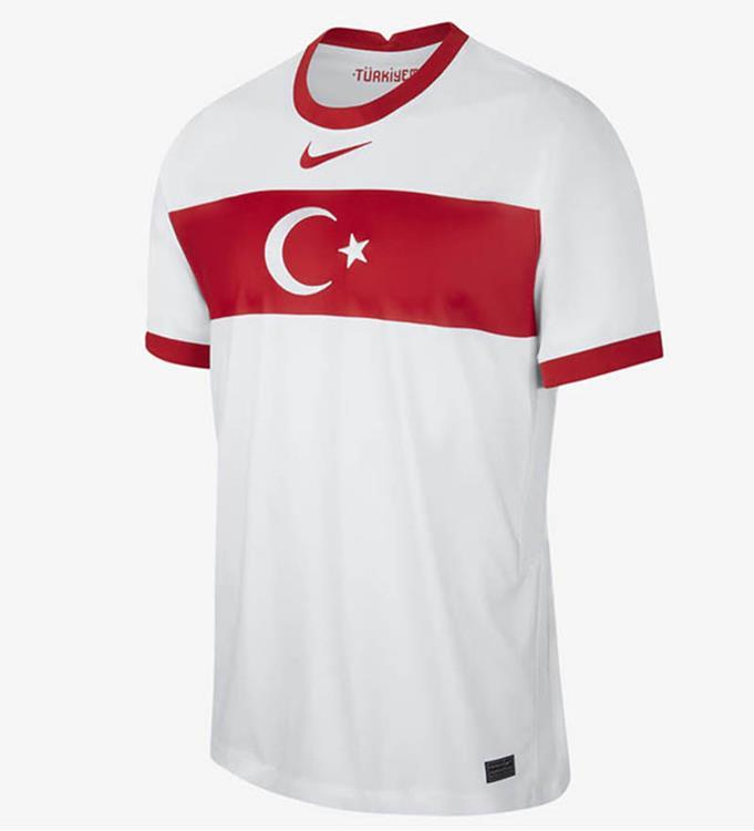 Nike Turkije Thuisshirt 2020/2021