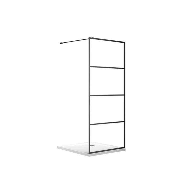 Dynamic Way Tetrágono douchewand - 190 x 78,5-80 cm