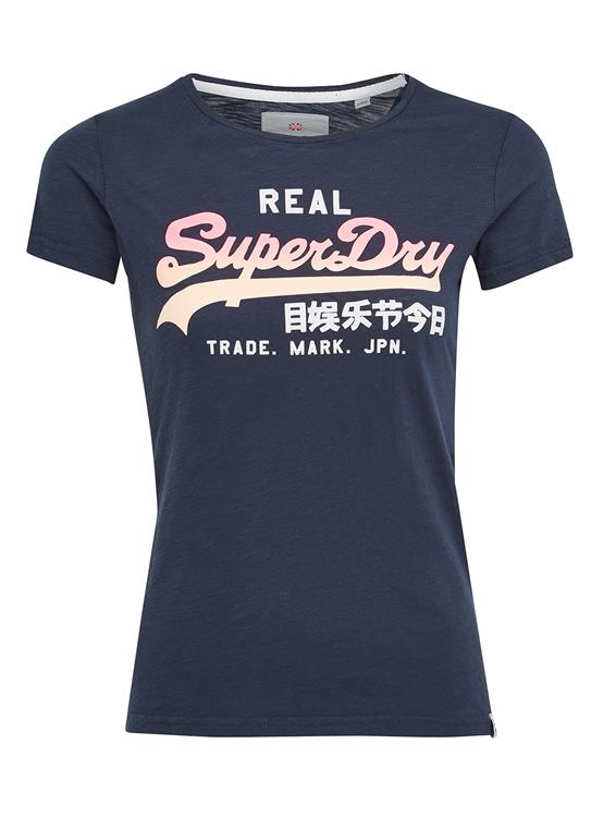 Superdry T-Shirt Logo Ombre