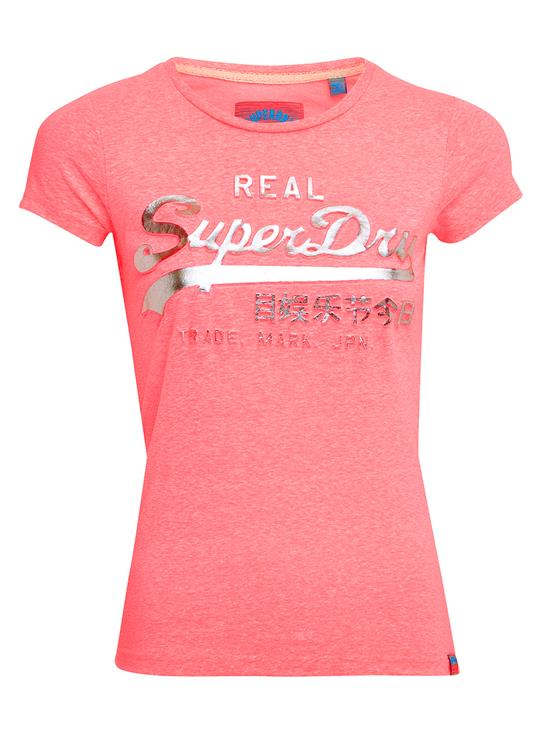 Superdry T-Shirt Logo Embossed