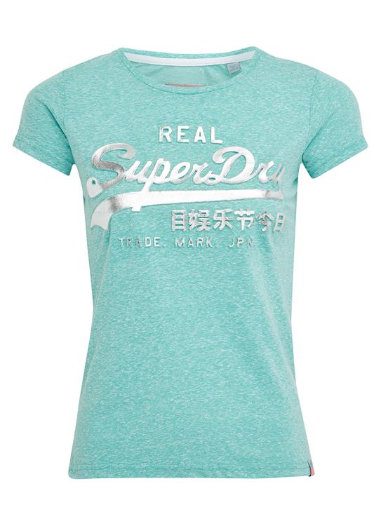 Superdry T-Shirt Logo Embossed