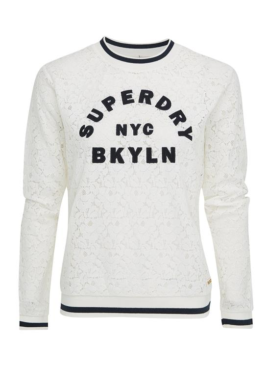 Superdry Top Lace Tipped