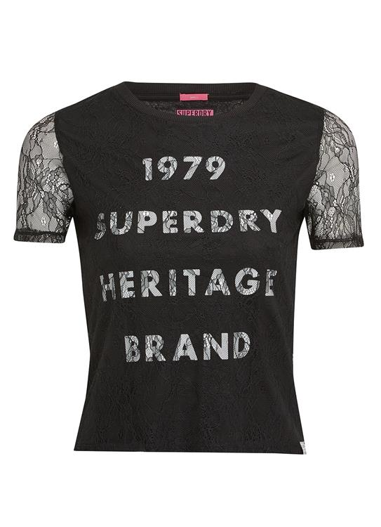 Superdry T-Shirt Lace