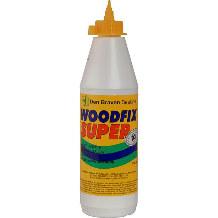 DEN BRAVEN Woodfix Super houtlijm D3 750ml