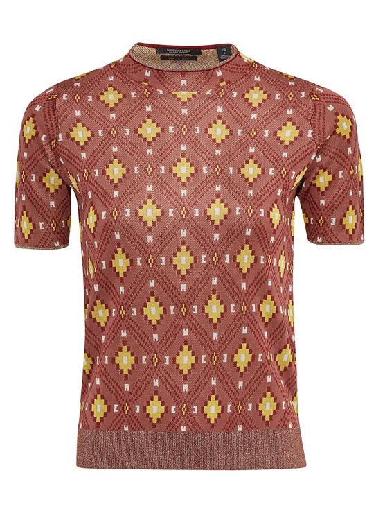 Maison Scotch T-Shirt Ikat