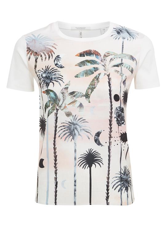 Maison Scotch T-Shirt Photo Print