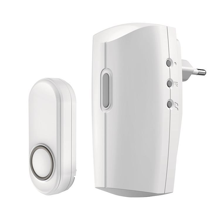KlikAanKlikUit Plug-in draadloze deurbelset ACDB-8000AC