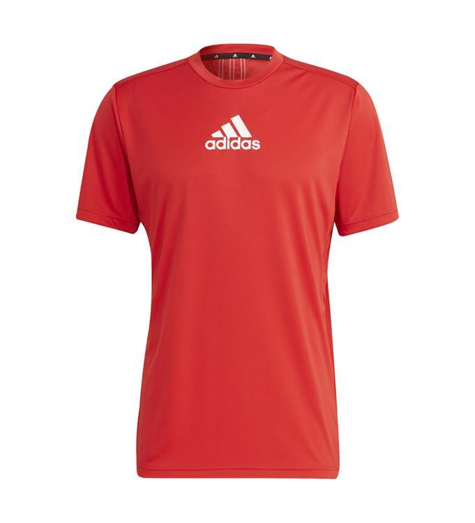adidas Men Designed To Move 3-Stripes T-shirt