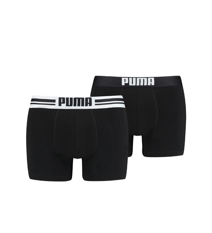 PUMA Placed Logo 2-Packed Boxershort