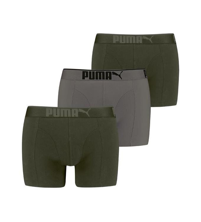 PUMA Premium Sueded Cotton 3P Boxershort