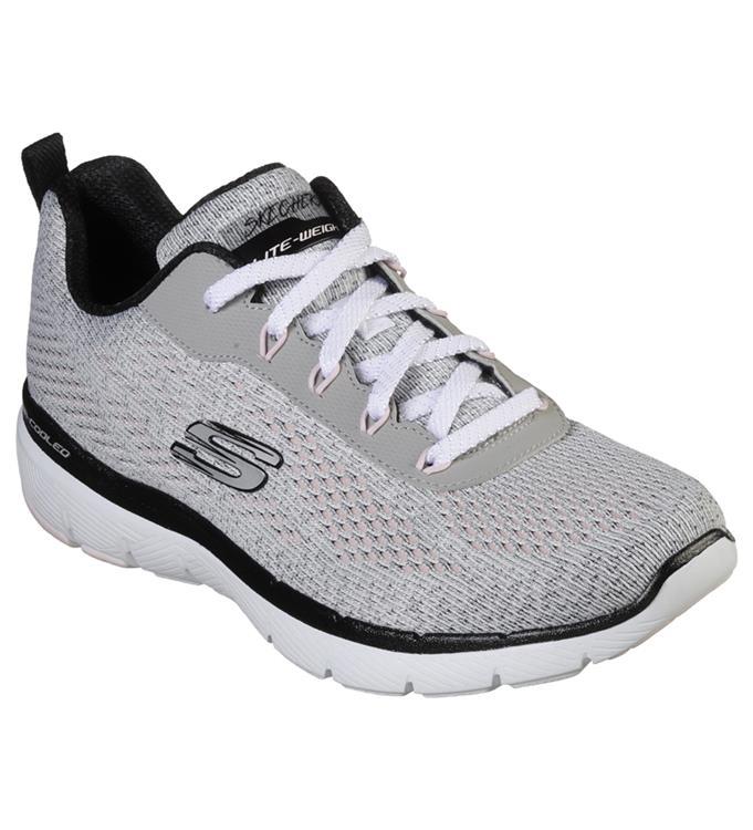 Skechers Dames Flex Appeal 3.0 Breezin Kicks Sneakers