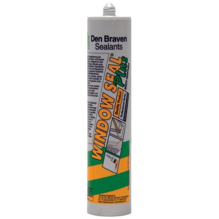 Den Braven Zwaluw windowseal plus wit 310 ml