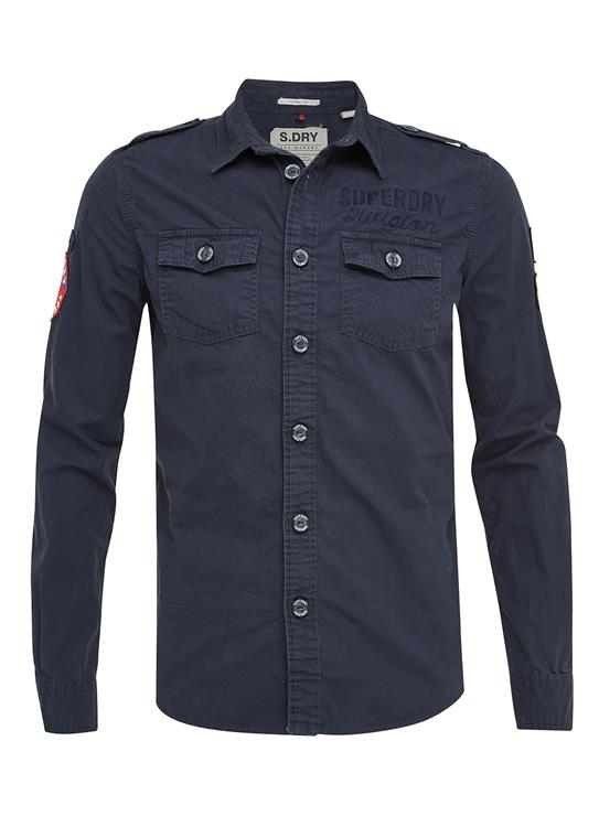 Superdry T-Shirt LS Army Corps