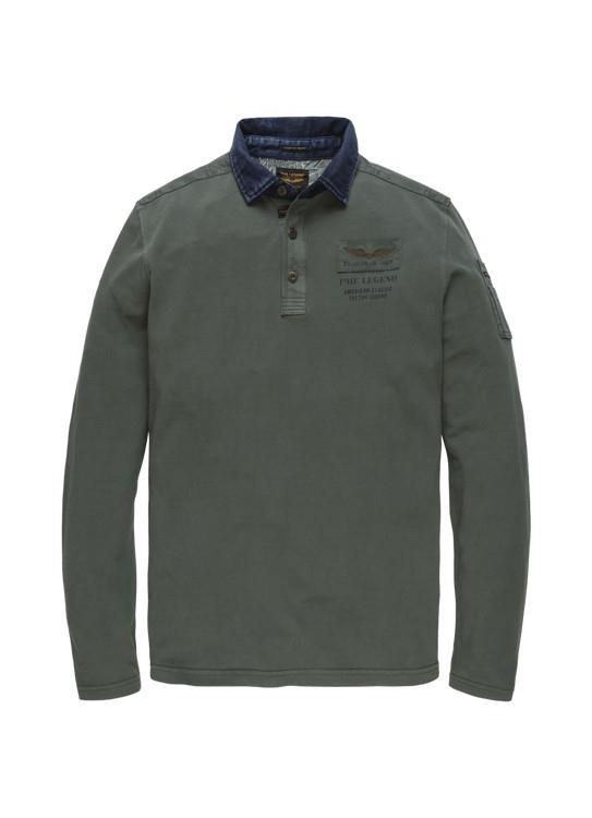 PME Legend Polo LS Rugged