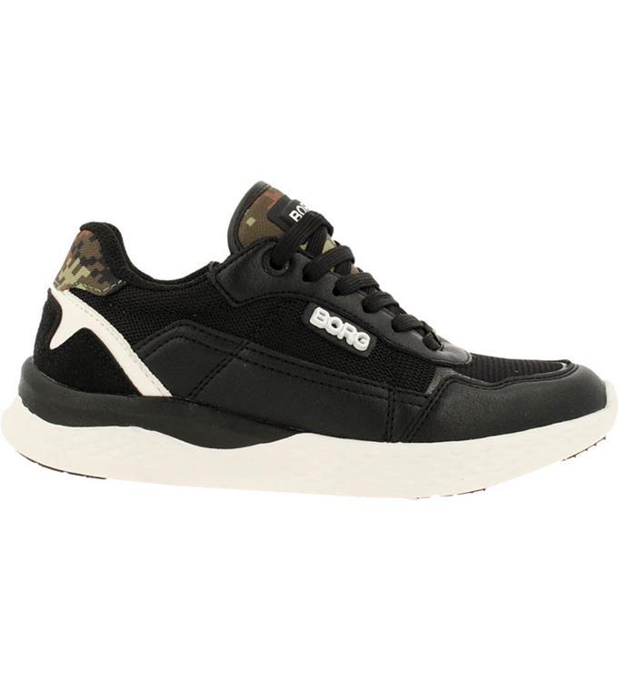 Björn Borg Kids R1200 Dca 0910 Blk-Wht Sneakers