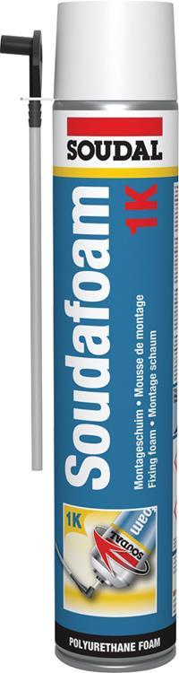 SOUDAL Soudafoam purschuim/ handschuim bus 750 ml