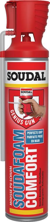 SOUDAL Soudafoam Comfort hersluitbaar Genius Gun 600 ml.