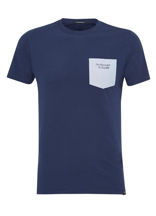 Scotch & Soda T-shirts ss Woven