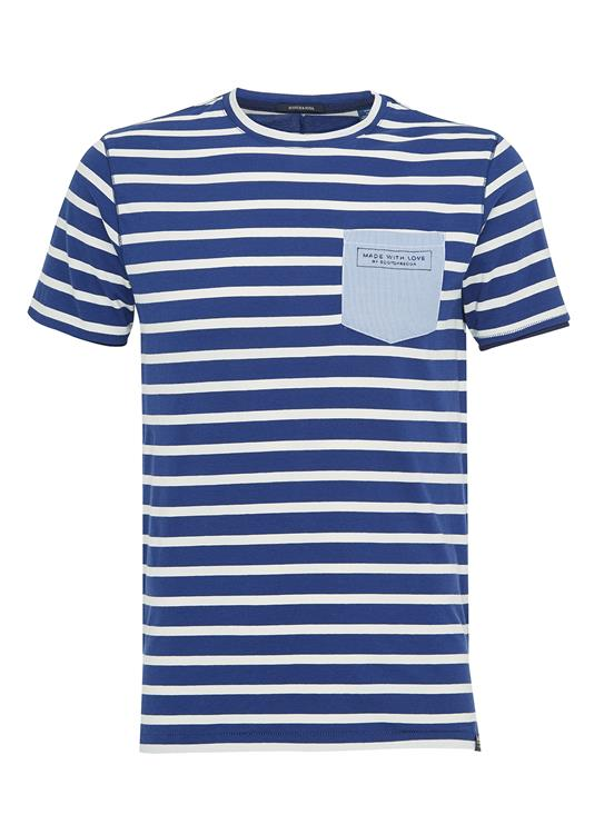 Scotch & Soda T-shirts ss Pocket