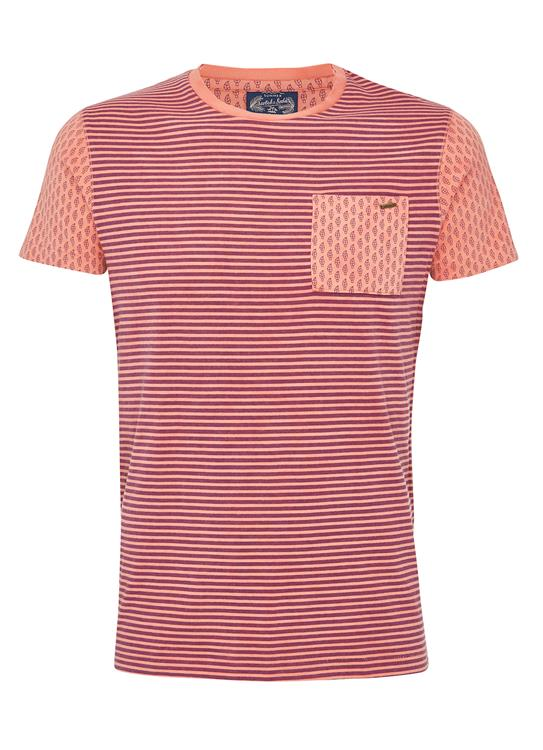 Scotch & Soda T-shirt SS Dyed