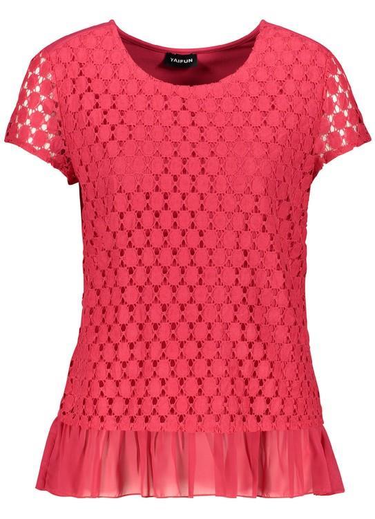 Taifun T-Shirt SS Think Pink