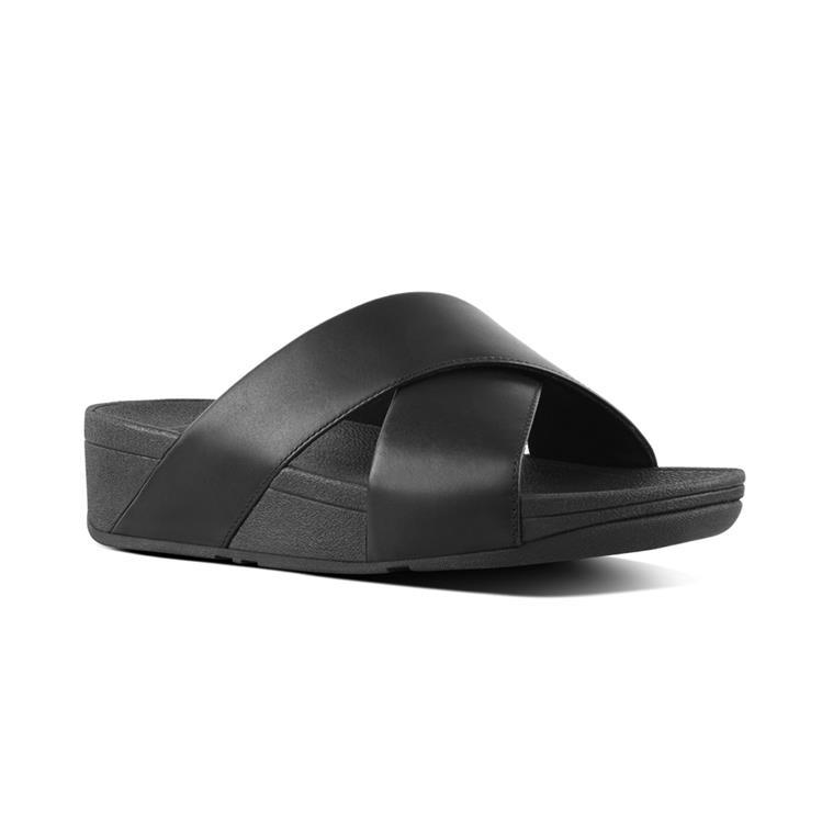 Fitfloptm lulu-cross-slide-sandals