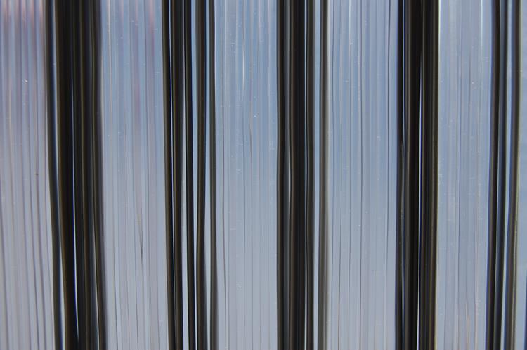 La Tenda Trento 1 vliegengordijn transparant/grijs 90x210cm