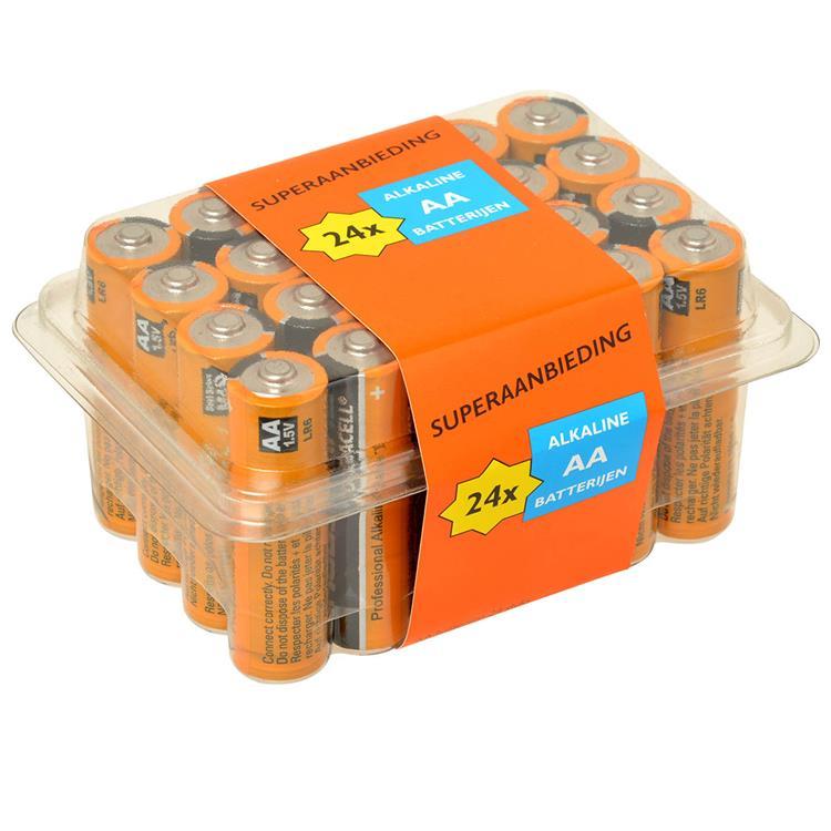 PROCELL Alkaline batterijen AA VOORDEELPAK 24 stuks