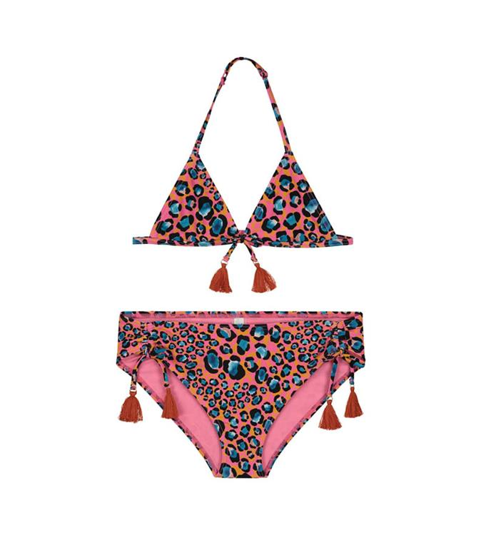 Shiwi Girls Leopard Spot Triangle Bikini