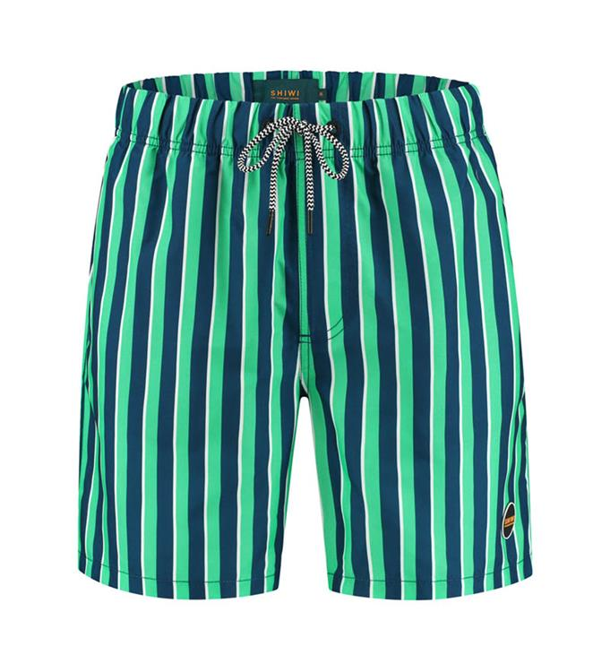 Shiwi Mens Midi Stripe Zwemshort