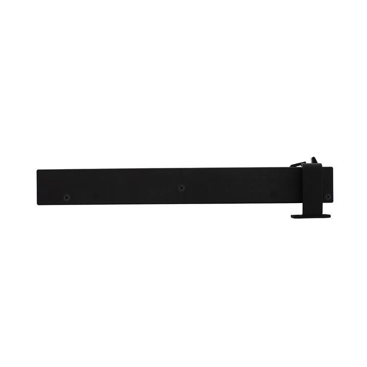 Intersteel Schuifdeursysteem – sluitvertrager mat zwart