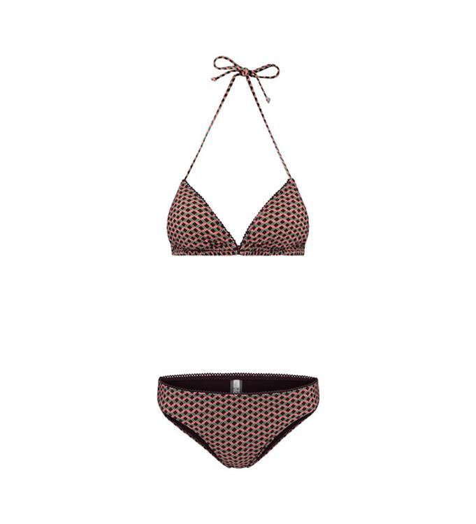 Shiwi Ladies Retro Miniprint Triangle Bikini
