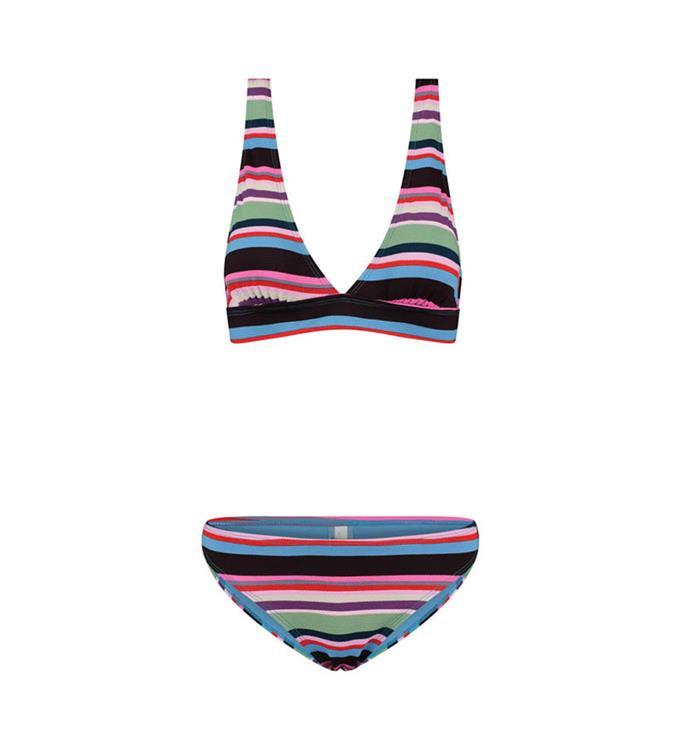 Shiwi Ladies Mod Stripe Bobby Top Bikini