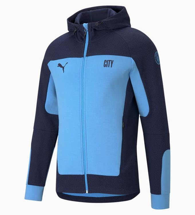 PUMA Manchester City F.C. Hooded Jack 2020/2021