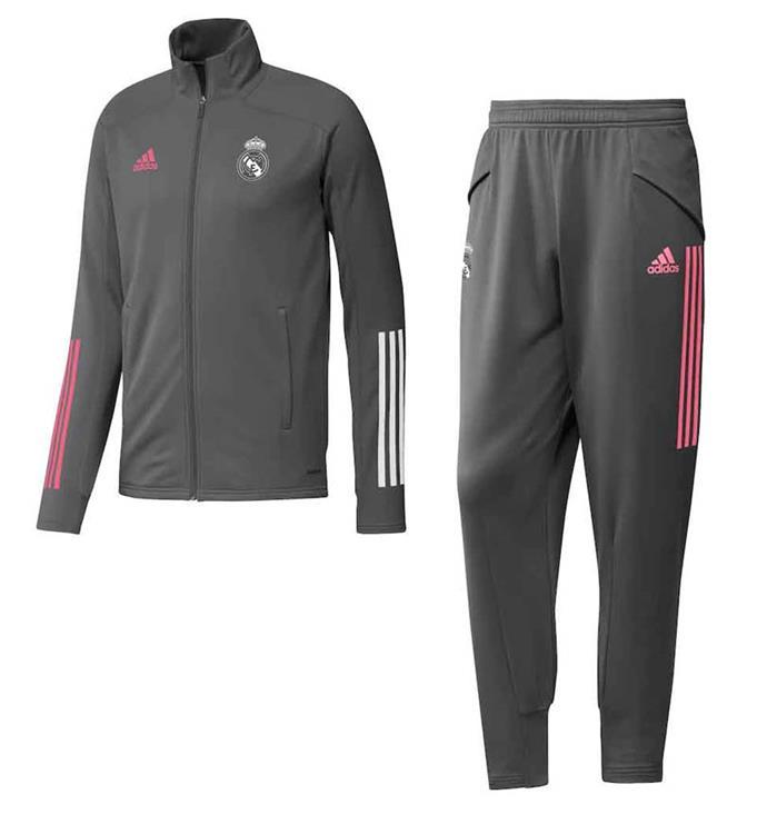 adidas Real Madrid JR Trainingspak 2020/2021