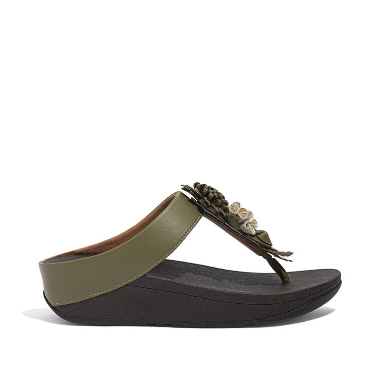 Fitfloptm Fino Floral Cluster Toe-Post
