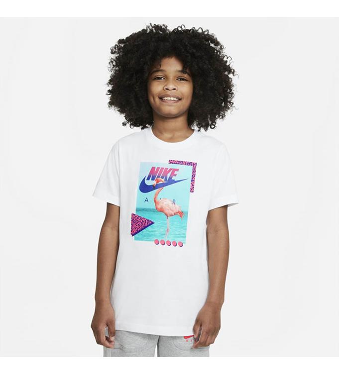 Nike Sportswear Boys Beach Flamingo Photo T-Shirt