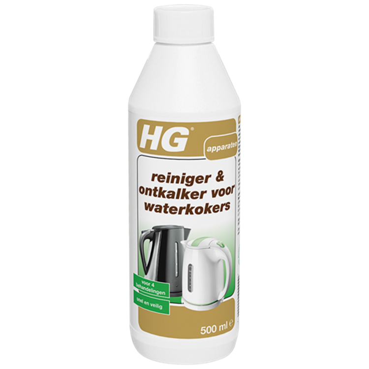 HG waterkokerreiniger en -ontkalker