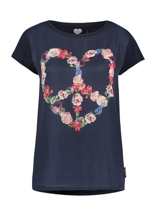 Catwalk Junkie T-Shirt Floral Heart