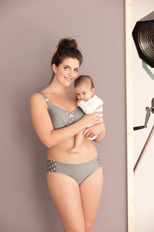 Anita Maternity slip Polka Dot