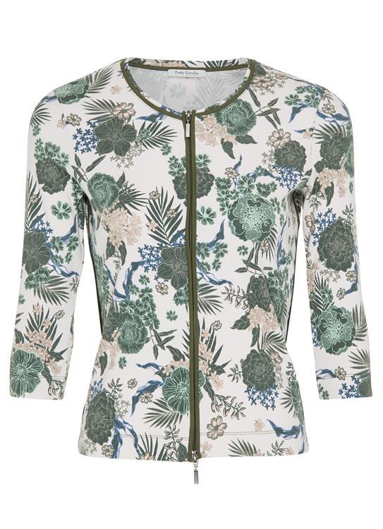 Betty Barclay Vest Flower