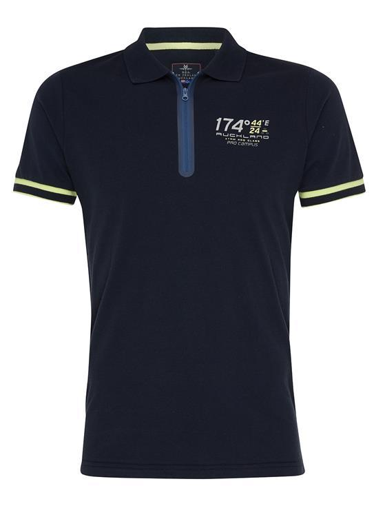 N.Z.A Polo T-Shirt SS Sand