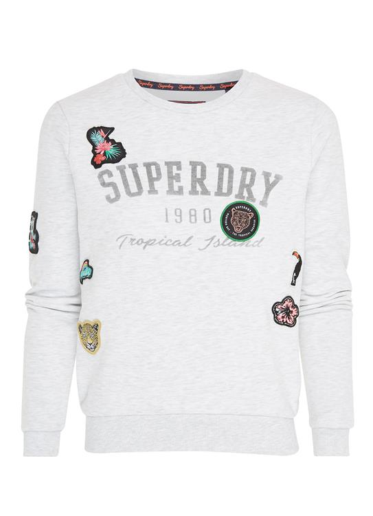 Superdry Sweater Patch
