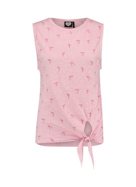 Catwalk Junkie Top Pink Ladies