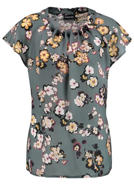 Taifun blouse Flower Clash