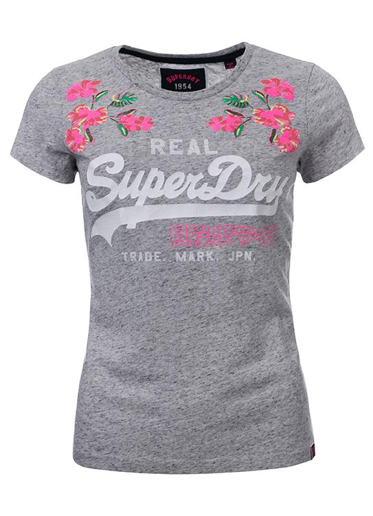 Superdry T-Shirt Rose