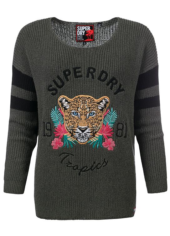 Superdry Sweater Leopard